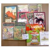 Vintage Assortment of Kids Books