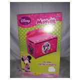 Minnie Mouse Deluxe Wood Toy Box