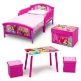 Disney Princess 5-Piece Toddler Bed Bedroom Set