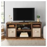 Mainstays Parson Cubby TV Stand, for TVs up to 50