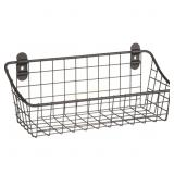 Small Vintage Wall Mount Basket