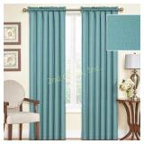 Blackout Thermal Curtain Panel, Sea Glass