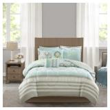 Mainstays 8 Piece Comforter and Coverlet Bedding