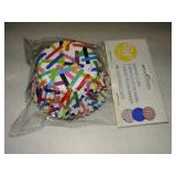 WILTON STD CUP MIXED BRIGHTS 75 CT