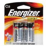 ENERGIZER C BATTERY  2 PACK