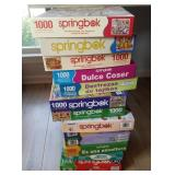 Lot Of 13 Different Puzzles Jigsaw Springbok