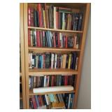 5 Shelves Of Various Books Fiction Novels & More