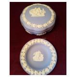 Wedgwood Jasperware Container & Plate