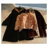 Pair Of Fur Jackets
