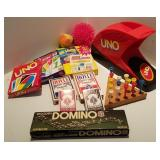 Game Lot; Dominos, Uno & More