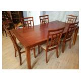 Ashley Furniture Dining Set For 6 W/ China Cabinet