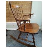 Nichols & Stone Solid Wood Rocking Chair