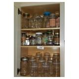Large Lot Of Jar; Great For Canning