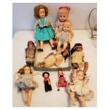 Old Dolls; Ideal Shirley Temple & More