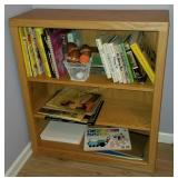 3 Shelf Wooden Book Shelf