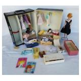 1958 Dated Barbie W/ 1962 Vinyl Case Full!