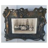 Heavy Bronze? Art Deco Style Frame W/ Photo