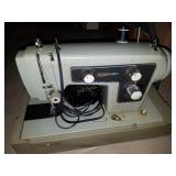 Sears Kenmore Green Sewing Machine