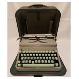 Hermes 2000 Vintage Green Typewriter