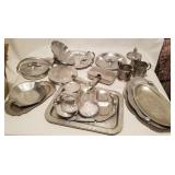 Continental Decorative Wrought Aluminum Lot