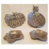 Bruce Cox Aluminum Pineapple, Strawberry