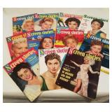 1953-55 Screen Stories Magazines/ 11 Total
