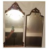 Pair Of Antique Mirrors