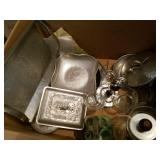 Hand Wrought Aluminum Bowls, Trays & More
