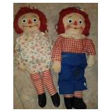 Knickerbocker Raggedy Ann & Andy