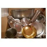 Kensington Aluminum Trays, Bowls & More