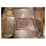 Large Decorative Aluminum Trays