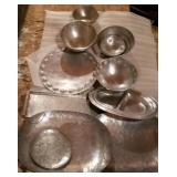 Aluminum Bowls & Trays; Palmer Smith