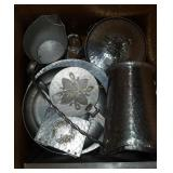Box Full Of Decorative Aluminum