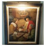 Original Oil Painting On Canvas By Soler