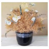 """Faux Plant With Pot, 28"""" Tall, Made In Japan"""