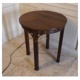 Kindel Round Wood Accent Table