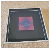 Vintage Turner Wall Accessory Vasarely