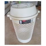 """Rubbermaid Clothes Hamper 27"""" Tall X 19"""" Round"""