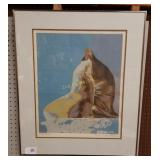 """Signed & # Serigraph By Greg Mcbride """" Seal Point"""""""