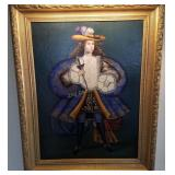 Original Oil Painting On Canvas By Paul Yode?