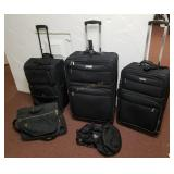 2 Kenneth Cole Reaction Rolling Luggage & More