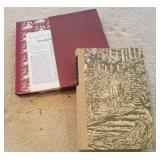 1958 Shakespeare Poems & Last Mohicans Book