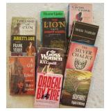 Lot Of Vintage Books W/ Dust Jackets, Land Of Cain