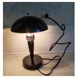 """Small Desk Top Touch Lamp 3 Light Settings, 13"""""""