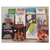 Lot Of Vintage Hardcover Books, The Unanointed