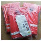 3 Safegard Type 2 Life Preservers, Appear New