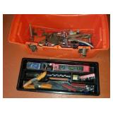 Tool Box W/ Bits, Sockets, Wrenches & More