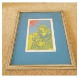 Signed & Numbered Print By Riberto Mendez