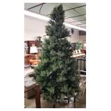 9ft. Tall Pre-lit Rolling Christmas Tree