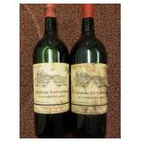2 Bottles 1966 Chateau St Georges Red Wine